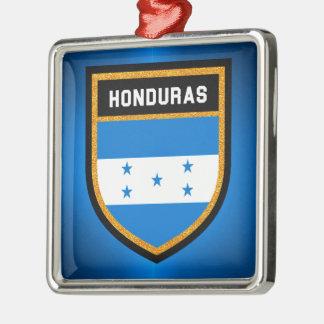 Adorno Metálico Bandera de Honduras