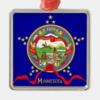 Adorno Metálico Bandera de Minnesota