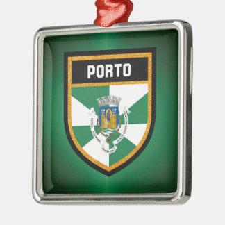 Adorno Metálico Bandera de Oporto