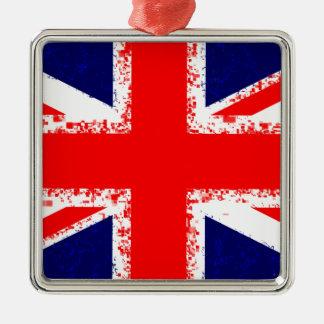 Adorno Metálico Bandera Reino Unido de Londres del Union Jack