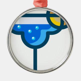 Adorno Metálico Bebida de lujo