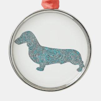 Adorno Metálico bluedashhound