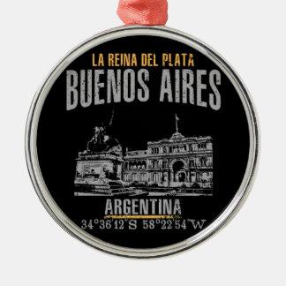 Adorno Metálico Buenos Aires