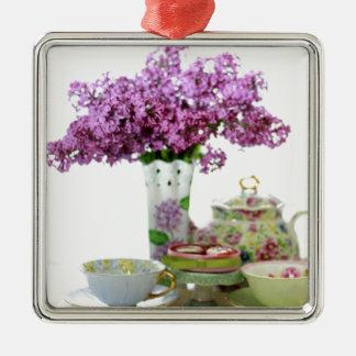 Adorno Metálico Calendario 2018 del tiempo del té