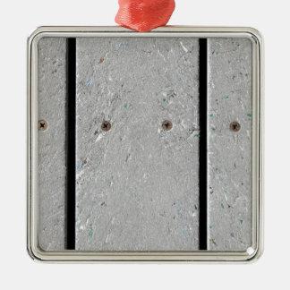 Adorno Metálico Calzada mezclada del tablón de la resina plástica