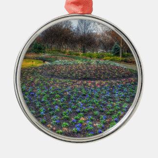 Adorno Metálico Cama de flor del arboreto de Dallas y de los