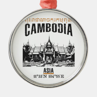 Adorno Metálico Camboya