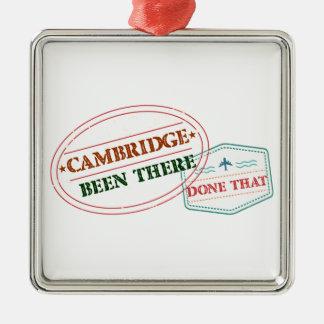 Adorno Metálico Cambridge allí hecho eso