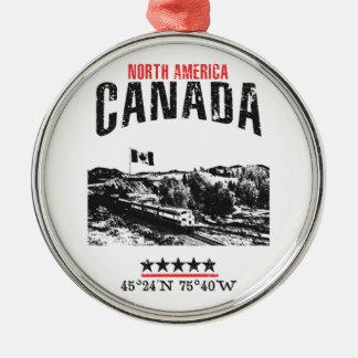Adorno Metálico Canadá
