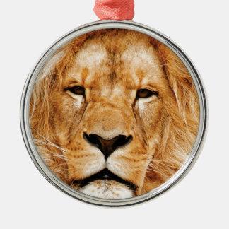Adorno Metálico cara del león sí