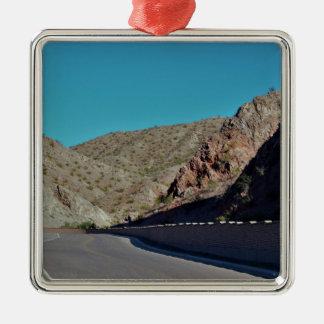 Adorno Metálico Carretera de la montaña en Arizona
