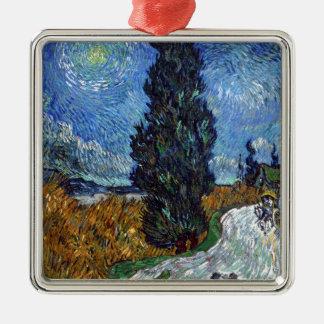 Adorno Metálico Carretera nacional de Vincent van Gogh en Provence