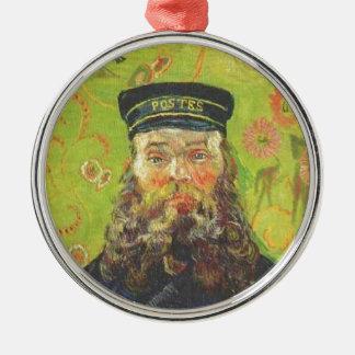 Adorno Metálico Cartero José Roulin - Vincent van Gogh del retrato
