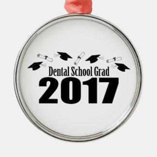 Adorno Metálico Casquillos y diplomas (negro) del graduado 2017