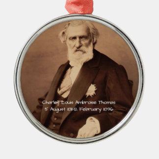 Adorno Metálico Charles Louis Ambroise Thomas