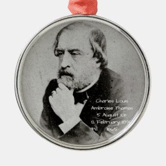 Adorno Metálico Charles Louis Ambroise Thomas 1865