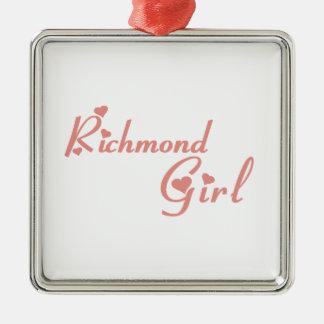 Adorno Metálico Chica de la colina de Richmond