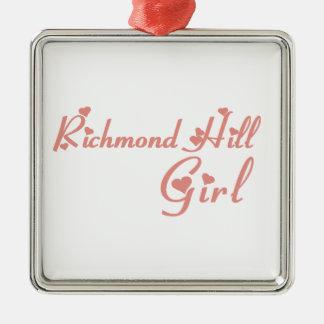 Adorno Metálico Chica de Richmond
