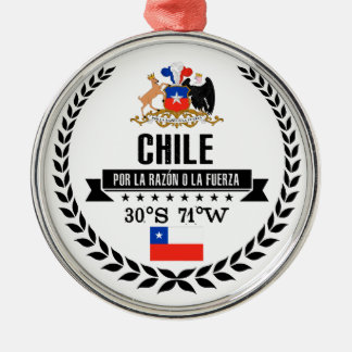 Adorno Metálico Chile