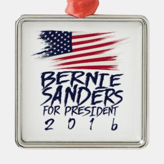 Adorno Metálico Chorreadoras de Bernie para el presidente 2016