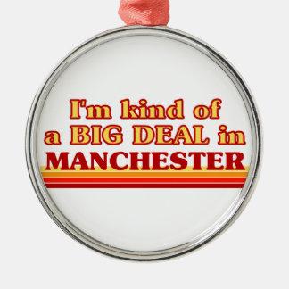 Adorno Metálico Clase de I´m de una gran cosa en Manchester