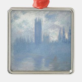 Adorno Metálico Claude Monet - casas del arte de Londres del