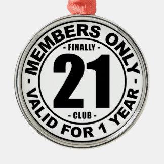 Adorno Metálico Club finalmente 21