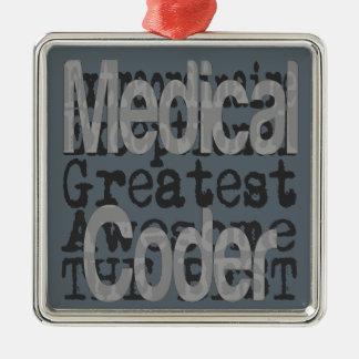 Adorno Metálico Codificador médico Extraordinaire