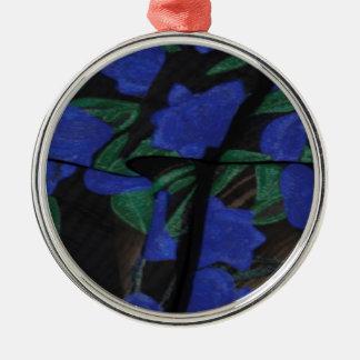Adorno Metálico Colección azul persa 2017 del diseñador
