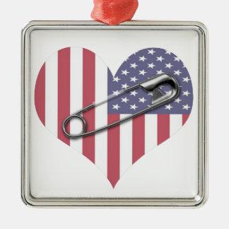 Adorno Metálico Coloco con usted - el Pin de seguridad