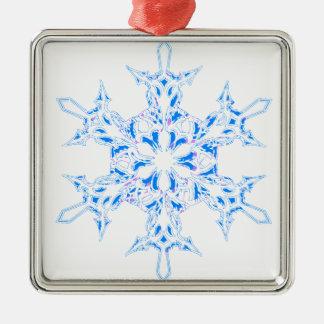 Adorno Metálico Copo de nieve