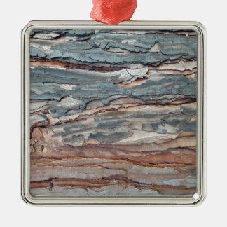 Adorno Metálico Corteza carbonizada del pino