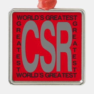 Adorno Metálico CSR Extraordinaire