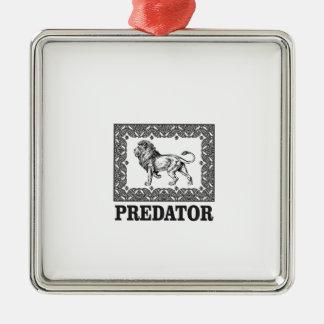 Adorno Metálico Depredador el león