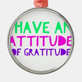 Adorno Metálico Detox AA de la recuperación de la gratitud de la