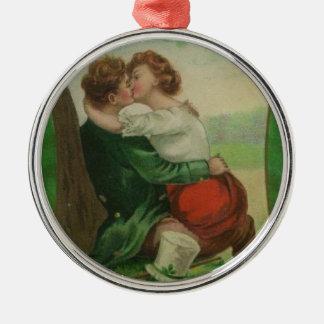 Adorno Metálico Día romántico de Irlanda St Patrick irlandés del