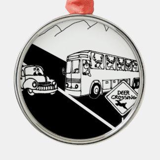 Adorno Metálico Dibujo animado 3251 del autobús