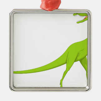 Adorno Metálico Dinosaurio