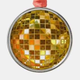 Adorno Metálico Disco del fiesta de la luz de la danza del salto