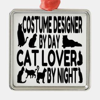 Adorno Metálico Diseñador de vestuario del amante del gato
