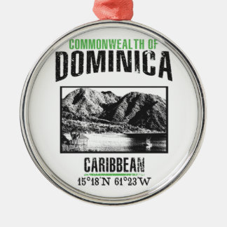 Adorno Metálico Dominica