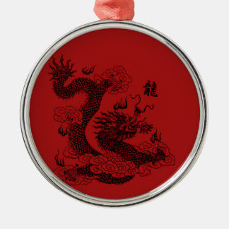 Adorno Metálico Dragón chino