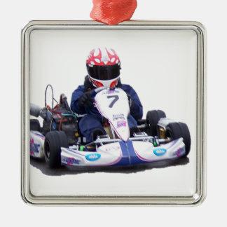 Adorno Metálico El competir con de Kart