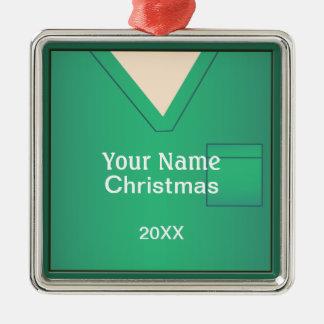 Adorno Metálico El doctor Scrubs Christmas Premium Ornament 3 de