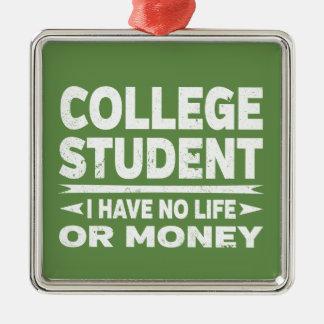 Adorno Metálico El estudiante universitario I no tiene ninguna