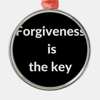 Adorno Metálico El perdón es la llave