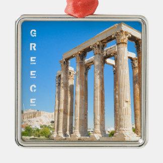 Adorno Metálico El templo de Zeus olímpico en Atenas, Grecia