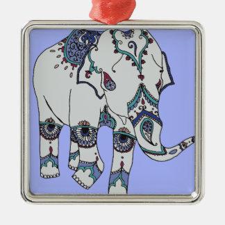 Adorno Metálico Elefante de Boho de la serenidad