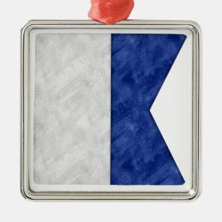 Adorno Metálico Elija a partir de 26 banderas marítimas náuticas