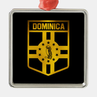 Adorno Metálico Emblema de Dominica